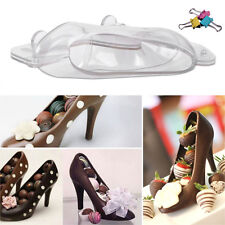 3D High Heel Shoe Candy Mold Chocolate Jelly Mould Cake Baking Tool Decoration