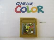 nintendo gameboy color: POKEMON GOLD version -100% original- spanish screentext-