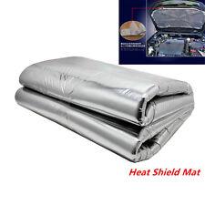 Heat Shield Mat Car Turbo Exhaust Muffler Insulation for hood Fiberglass Cotton