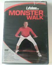 Lifeline USA Monster Walk Fitness Exercise DVD Sealed