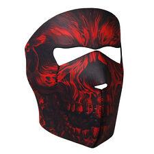 Biker Motorrad Face Mask Chopper Shredder Skull Totenkopf Maske Sturmhaube NEU