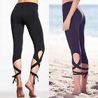 Mujer Yoga Deporte Ejercicio Leggings Atletismo BAILE Vendaje Pantalones
