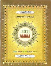 Juz'u 'Amma, 30th Part of the Holy Qur'an, Color-Coded Tajweed Rules in English