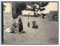 Egypte, Scènes de la vie des Egyptiens vintage citrate print Tirage citrate