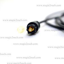 2M Enlace TOS digital de fibra óptica Toslink Cable De Audio 4mm 6Ft LONGITUD DE PLOMO