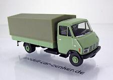 Brekina 37700 Steyr 590 Pritsche / Plane- Leicht-LKW -  blassgrün