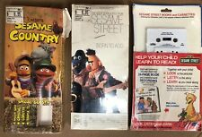 Sesame Street Cassette Tapes Born To Add Country Sesame Show And Tell