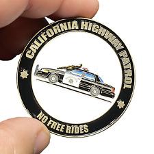 EE-003 California Highway Patrol Civil Unrest Riot CHP No Free Rides Police Car