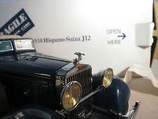 1/24 Danbury Mint 1934 Hispano Suiza Metal Hood Ornament Franklin J12 Diecast