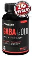 Body Attack - GABA Gold - 80 Kapseln - 24 Stunden Express Versand kostenfrei