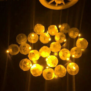 LED Colorful Flicker Mini Ball Light Sparkling Lamp Party Wedding Decor Supplies