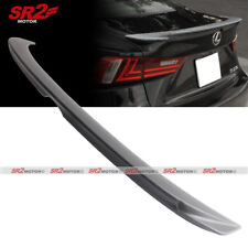 F Sport Style Rear Trunk Lip ABS Spoiler Wing fit 14-17 Lexus IS200T IS250 IS350