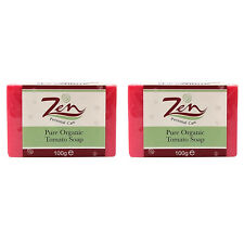TOMATO SOAP ACNE CONTROL BY ZEN Pk 2  Exfoliate Skin dry up pimple reduce pores
