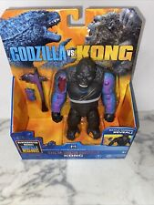 "Playmates Monsterverse Godzilla vs Kong 6"" Hong Kong Battle KONG Figure New"