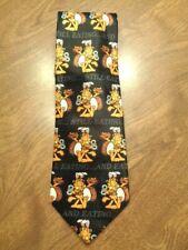 """Garfield """"Still Eating"""" Cartoon Black Background Poly Necktie Tie"""