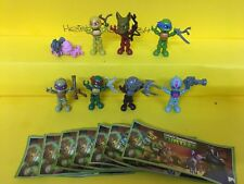 Satz Ninja Turtles SE281-SE286 SE554 SE556 mit BPZ aus Adventskalender