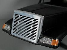 Aluminum Front Grill Cover Mesh for Tamiya RC 1/14 Knight Hauler Semi Truck