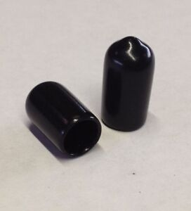 6mm End Caps, End Covers for Tubes, Rods & Threads, rubber plastic