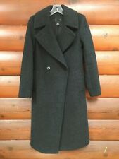 $459 Club Monaco XS Black Charcoal Daylina? Wool Blend Winter Coat Women