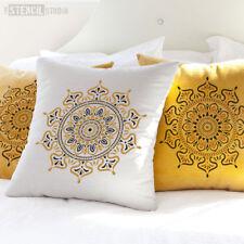 Zara Mandala Indian Wall STENCIL Furniture Fabric Craft The Stencil Studio 10696