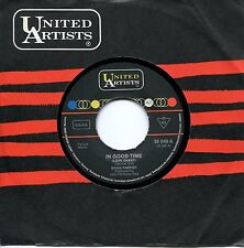 "UK 1969 Psychedelic-Pop : BRIAN PARRISH - 7"" In Good Time / I Wanna Go To Sleep"