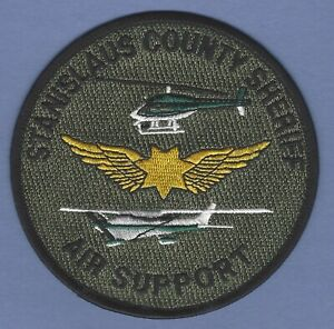 STANISLAUS COUNTY SHERIFF CALIFORNIA AIR SUPPORT SHOULDER PATCH