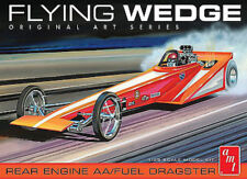 AMT 927   1970's Flying Wedge Rear Engine T/F Dragster Model Kit 1/25 On Sale!
