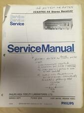 Philips Service Manual for the 22 AH784 -44 Receiver