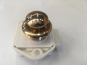 Button Release Drawer Latch Gold