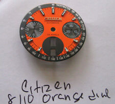 = New ORANGE DIAL made for CITIZEN 8110 Chronograph Automatic