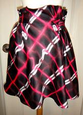 Kenzo Paris Black/Multi Color Swirls  Mini Flare Skirt~Sz-42~Cute & Stylish~
