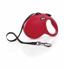 Flexi New Comfort Rétractable bande 5 m chien plomb Laisse, M-L Rouge