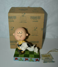 Jim Shore Peanuts Figurine - Charlie Brown & Snoopy - I'll Miss You