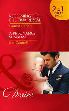 Redeeming The Billionaire Seal / Pregnancy Scandal By Lauren Canan New A11 LL374