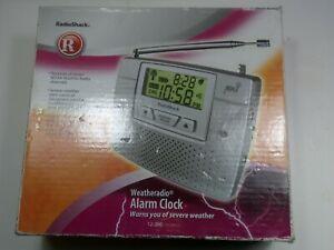 Radio Shack Weather Radio NOAA With Alarm Clock 120-0260 Used