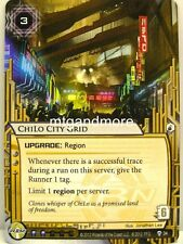 Android Netrunner LCG - 1x ChiLo City Grid  #034 - Cyber War Corp Draft Pack