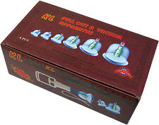 CHINESE CUPPING SET, Cellulite Vacuum Massager,Acupuncture, Health in your hands