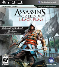 Assassin's Creed IV: Black Flag (Sony PlayStation 3, 2013) new factory sealed