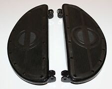 Harley 45 Panhead Floorboards Rubber Pads Rivited (28)