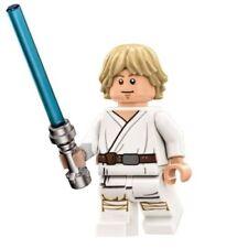 LEGO Star Wars Death Star White Minifigure Luke Skywalker Lightsaber From 75159