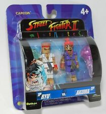 CAPCOM STREET FIGHTER II MINIMATES DARKSTALKERS RYU VS. AKUMA EXCLUSIVE