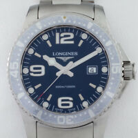 Longines Stainless Steel HydroConquest Men's Quartz Watch L36404