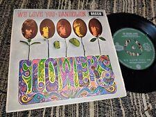"THE ROLLING STONES We love you/Dandelion 7"" 45 1967 *SPAIN*"