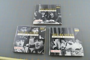 The Beatles - Rare Photos And Interview CD Vol. 1 2 3 Music CD Compact Disc LE