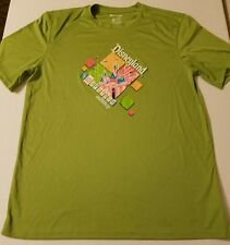 Run Disney Mens Disneyland 1/2 Marathon Running Race Shirt Size Large