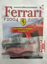 Ferrari Formula 1 F2004 De Agostini Kyosho a Scoppio Ricambio N°76 04076 Nuovo