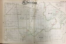 ORIGINAL 1888 PHILADELPHIA NICETOWN, OLNEY, FELTONVILLE PA PLAT ATLAS MAP