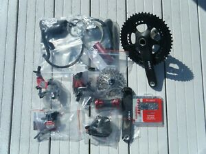SRAM Red 10 speed groupset - all parts brand new and unfitted