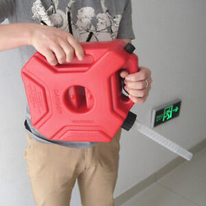 5L Plastic Jerry Can Gas Diesel Petrol Fuel Tank Oil Container Fuel-jugs Valid