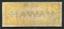 """Fr. 2300 1935-A $1 """"Hawaii� Silver Certificate """"Reverse Overprint Error�"""